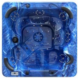 Jacuzzi spa de exterior SPAtec 800 azul