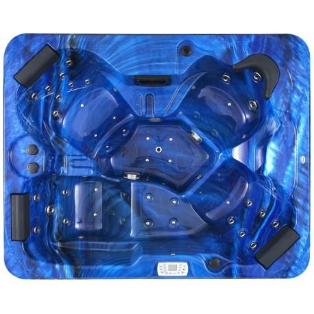 Jacuzzi spa de exterior SPAtec 500 blau