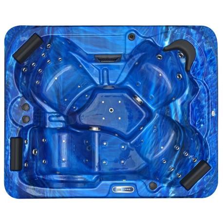 Jacuzzi spa exterior SPAtec 500B azul