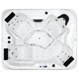 Jacuzzi spa exterior SPAtec 500B blanco