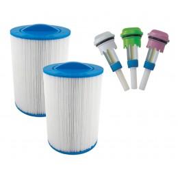 Pack de filtros y aroma spa exterior