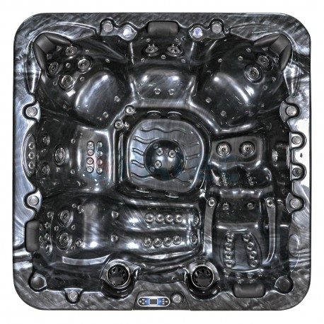 spa jacuzzi exterior SPAtec 950B negro