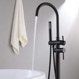 Grifo bañera exenta negro