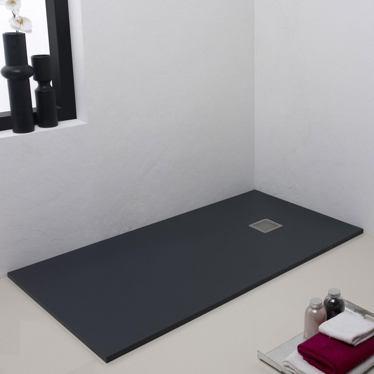 Plato de ducha a medida liso hidrotienda for Plato de ducha flexible